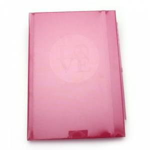 Agendas - Libro de Firmas LOVE fucsia (Últimas Unidades)