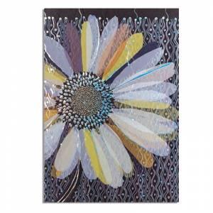 Turnowsky - Cuadernillo Notebook Turnowsky - Flor morada y azul Ref. 38656 (Últimas Unidades)