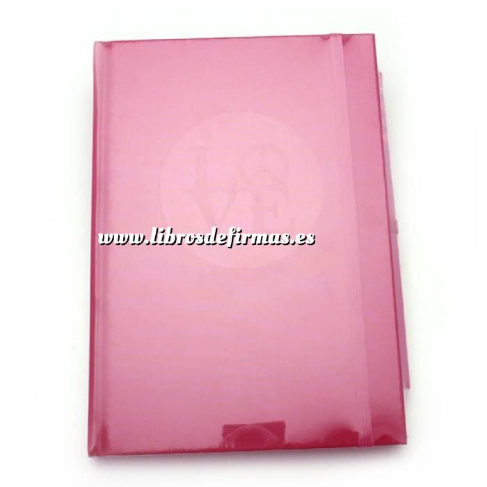 Imagen Agendas Libro de Firmas LOVE fucsia (Últimas Unidades)