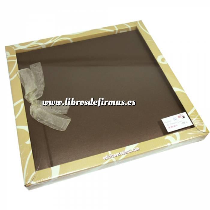 Imagen Álbumes Libro de Firmas LAZO 10 Oliva Clásico