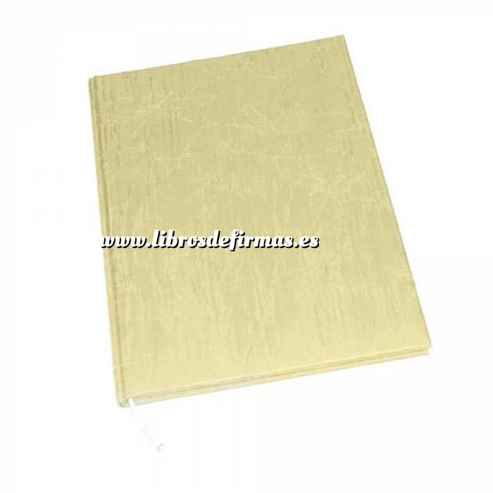 Imagen Clásicos Libro de Firmas Brillante NATURAL