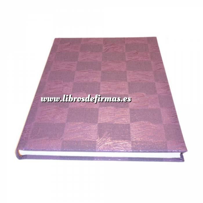 Imagen Originales Libro de Firmas CUADRADOS Morado