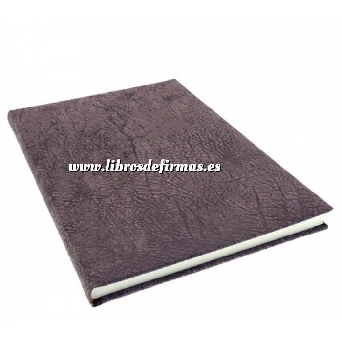 Imagen Textura Libro de Firmas TEXTURA Berenjena