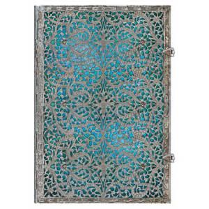 Cl�sicos - Libro de Firmas Azul Maya Grande