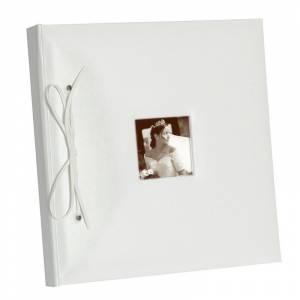 Clásicos - Libro de Firmas Lazo Blanco con foto (CY1202) (Últimas Unidades)