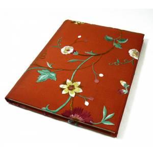 Floral - Libro de firmas floral NARANJA (Últimas Unidades)