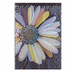Turnowsky - Cuadernillo Notebook Turnowsky - Flor morada y azul Ref. 38656 (�ltimas Unidades)